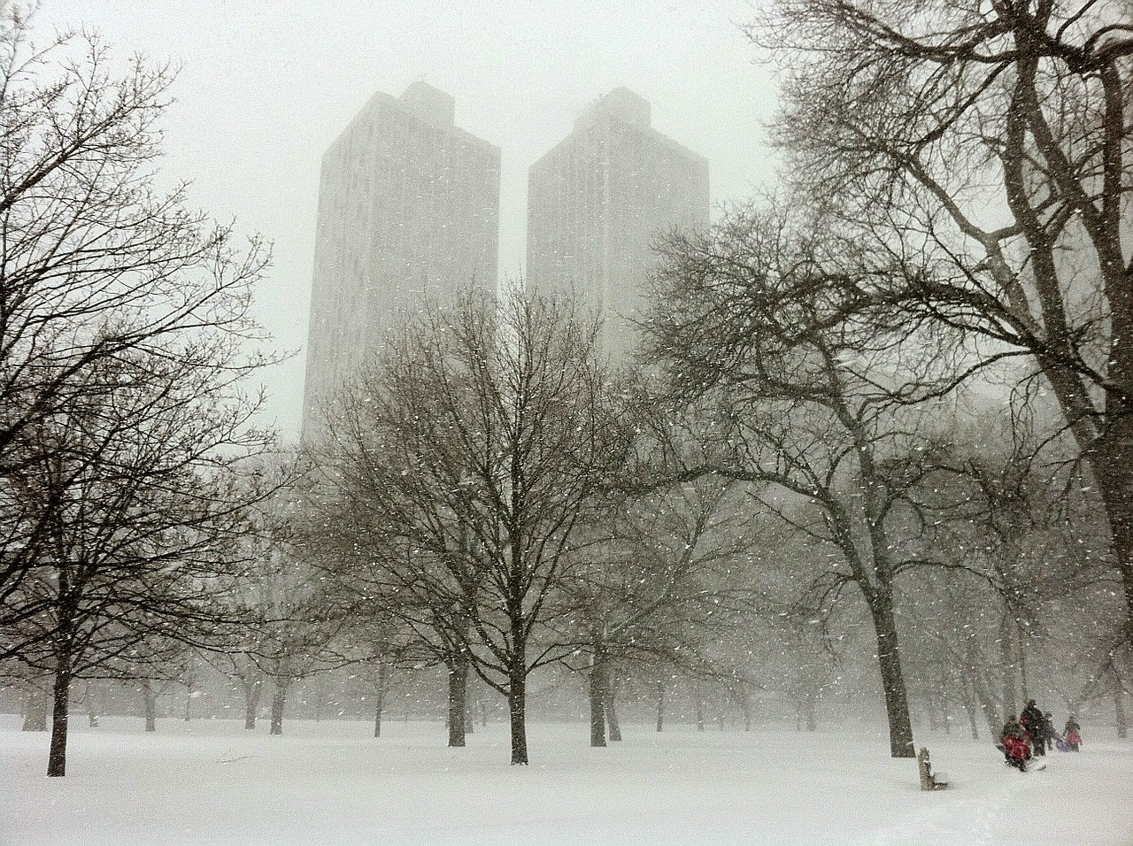 Clima de Chicago en Invierno