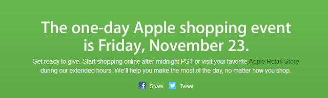 Apple's Black Friday Event