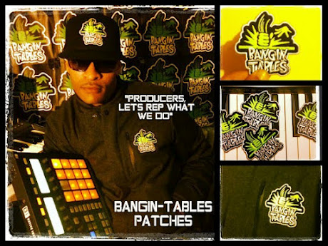 BANGIN-TABLES  IRON-ON PATCHES  $2.50
