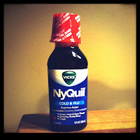 Nyquil bottle