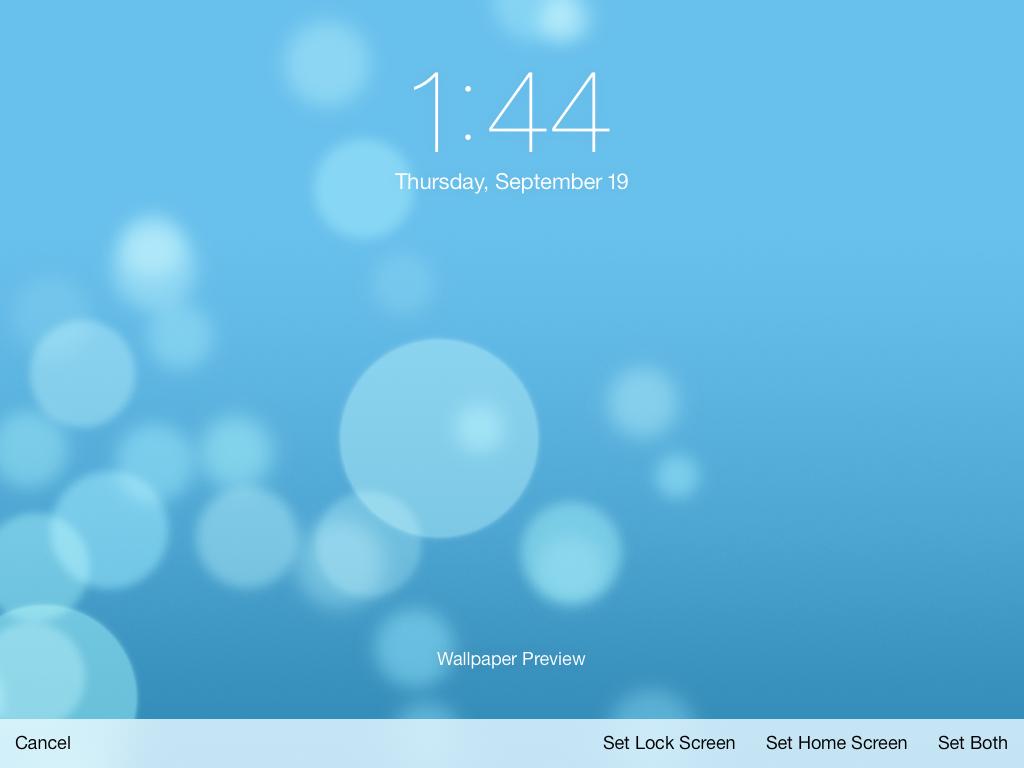 ios 7 testing on my ipad mini