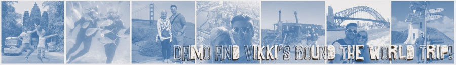 Damo and Vikki's Round the World Trip!