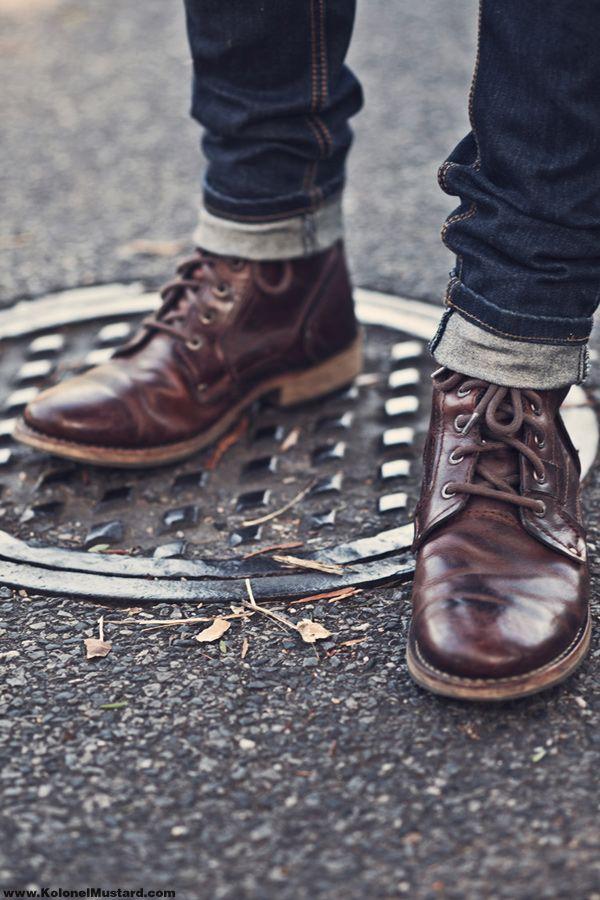 MODE * 6 façons de porter des bottes HOMME