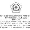 Juknis Perpanjangan Izin Pendirian Madrasah Serta Penerbitan SK Pengganti