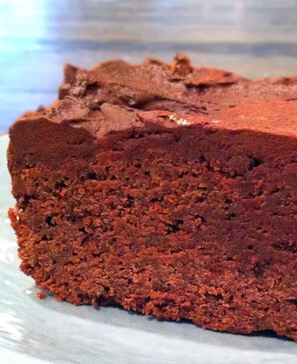 Chocolate Stout Brownies w/ Irish Whiskey Ganache