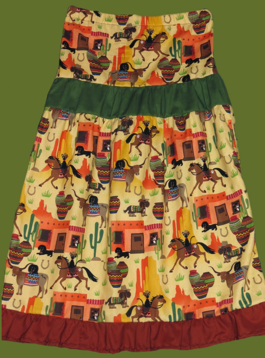 Girls Tier Skirt