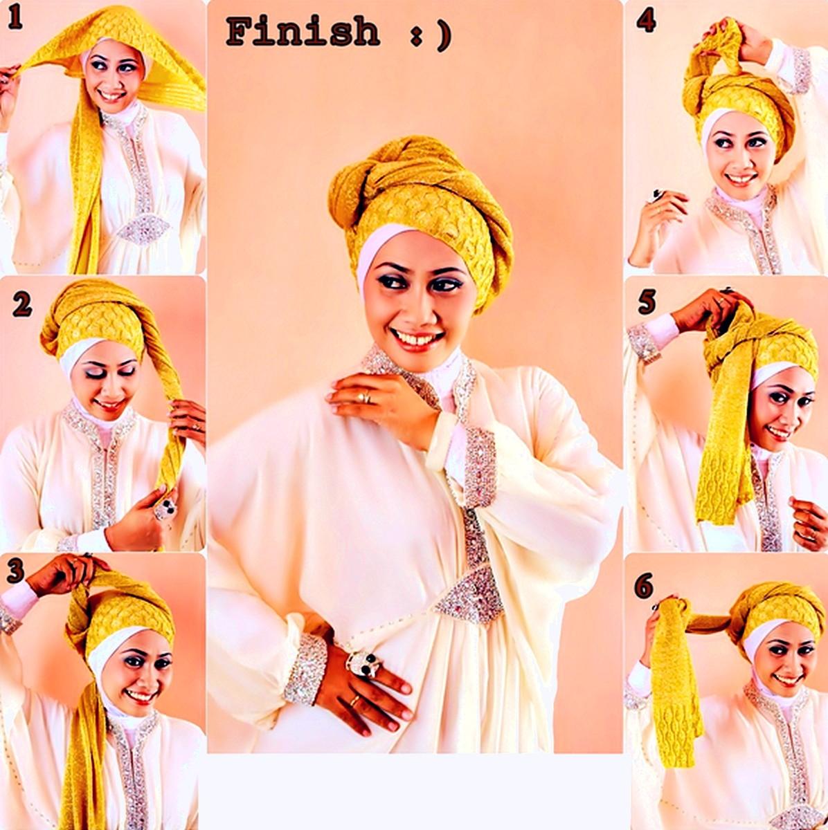 Hijab Simple Untuk Pergi Ke Pesta Pernikahan Atau Kawinan