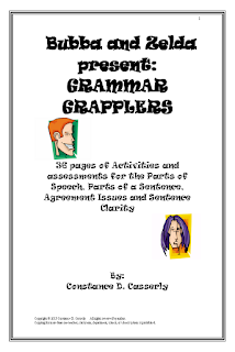 Middle and High School ELA Lesson Plans Grammar Grapplers