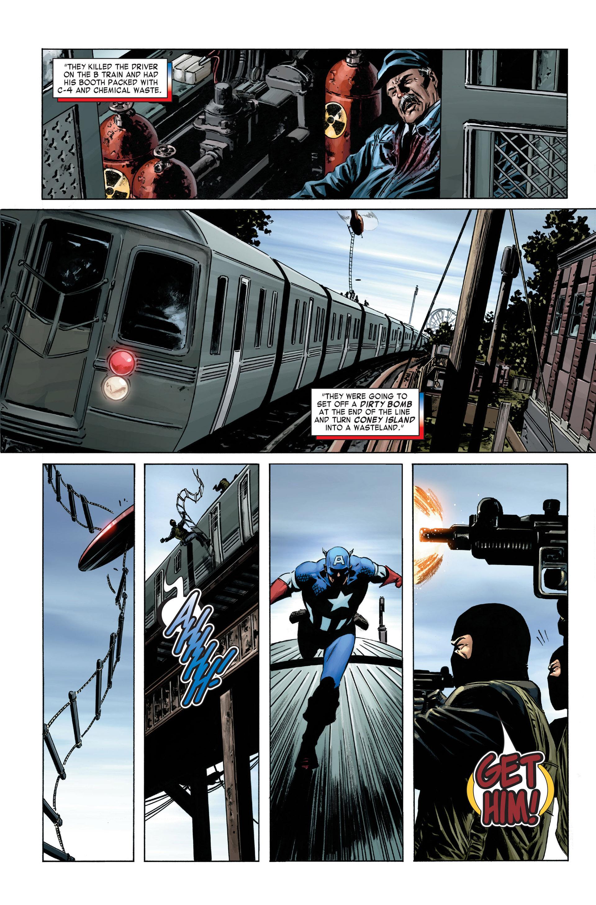 Captain America (2005) Issue #1 #1 - English 14