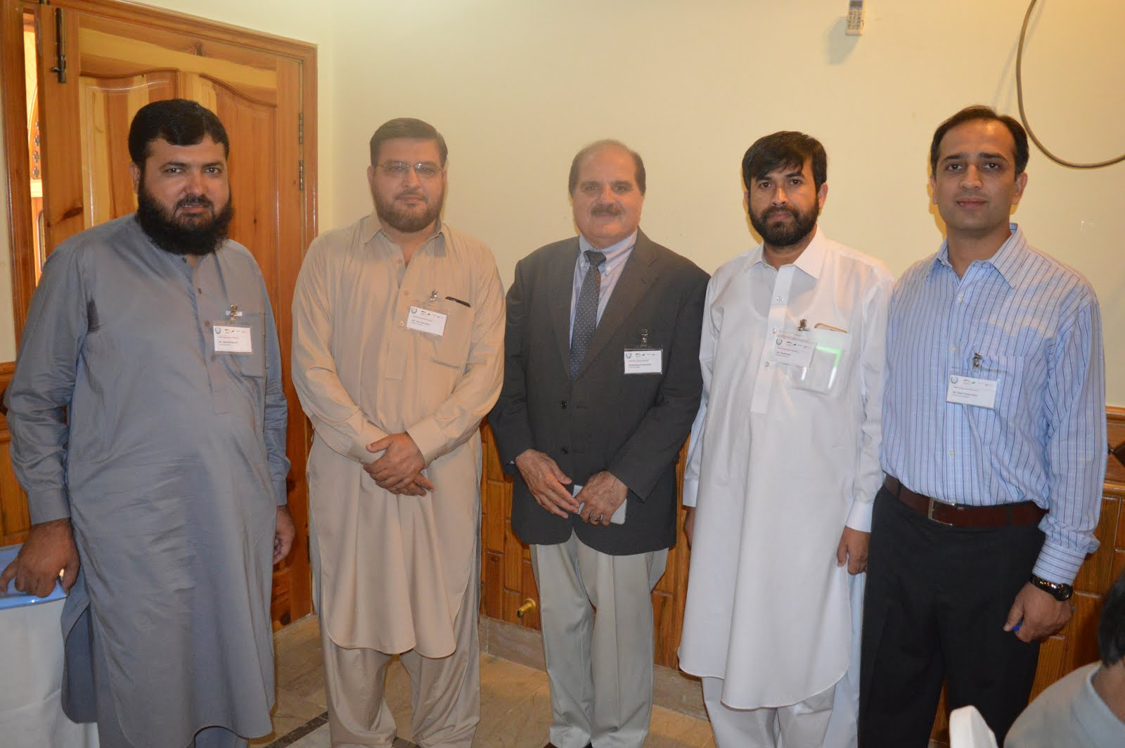 With Officers of KPRA