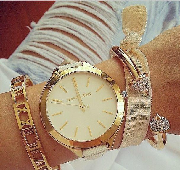 Desejo do dia - Acessórios Michael Kors - Relógio e pulseiras