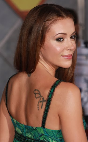 Les tatouages d'Alyssa Milano 10 photos Tattoo Egrafla