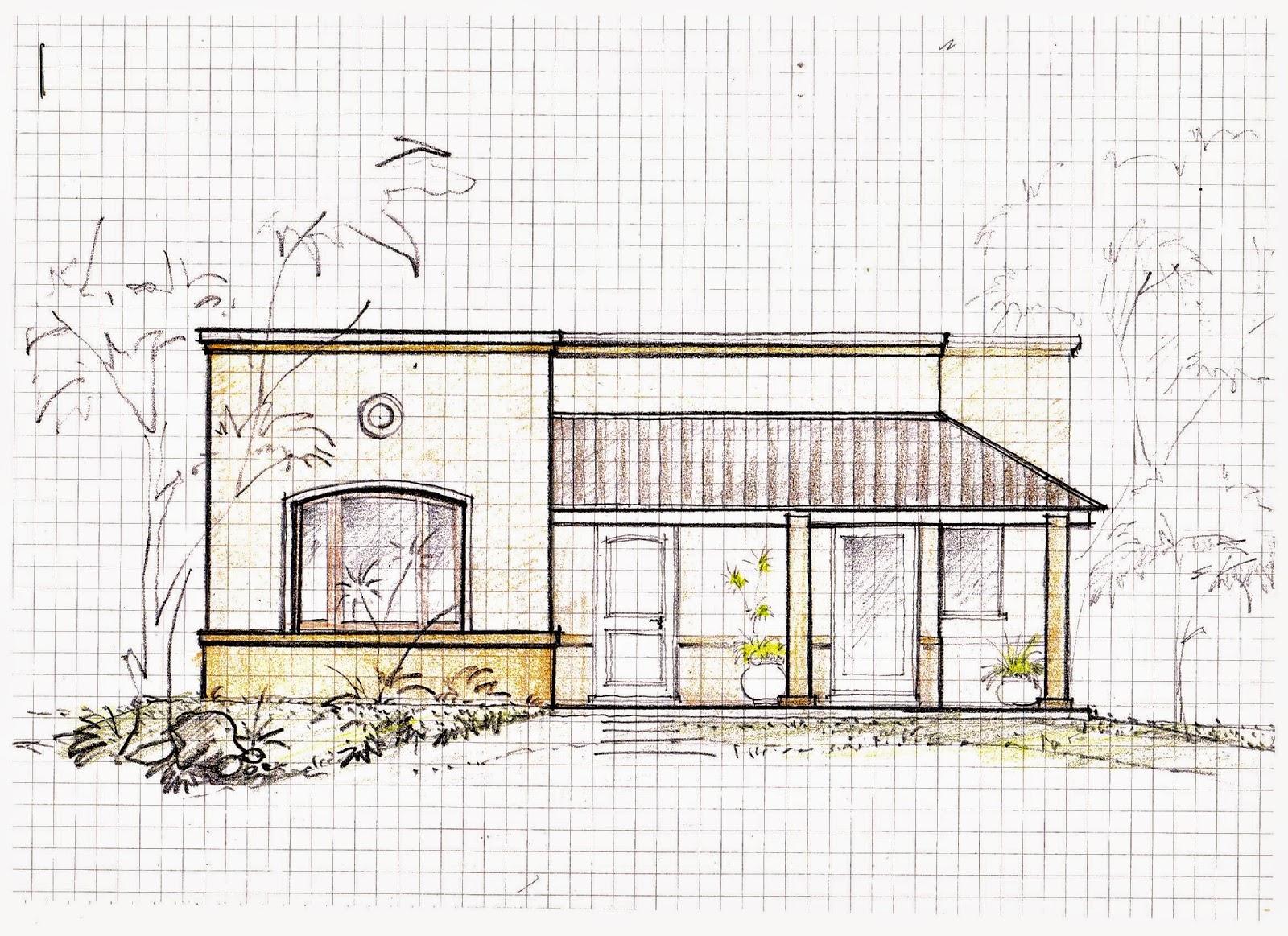 Casas y planos grupo 3 arquitecto roque e paulino - Casas dibujadas a lapiz ...