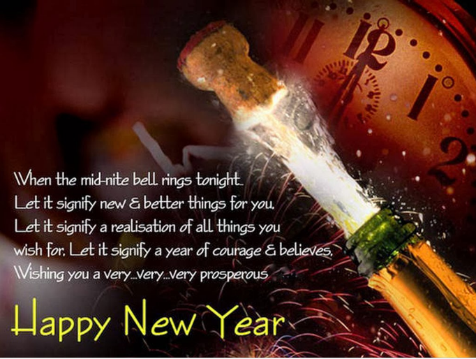 Happy New Year 2015 Wishing cards