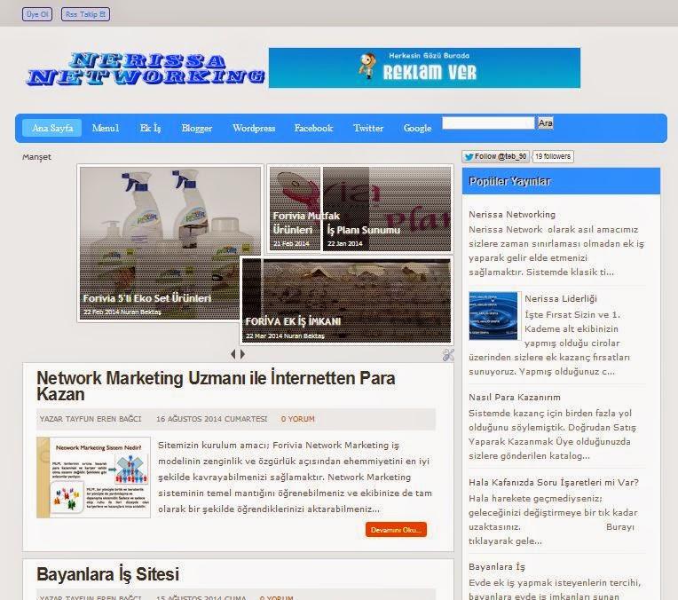 ProBlue Blogger Teması