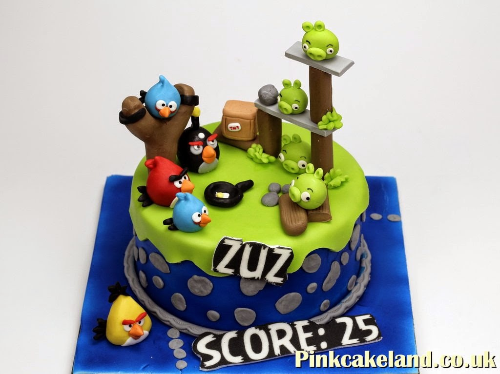 Cakes in Surrey Angry Birds Cakes in Surrey