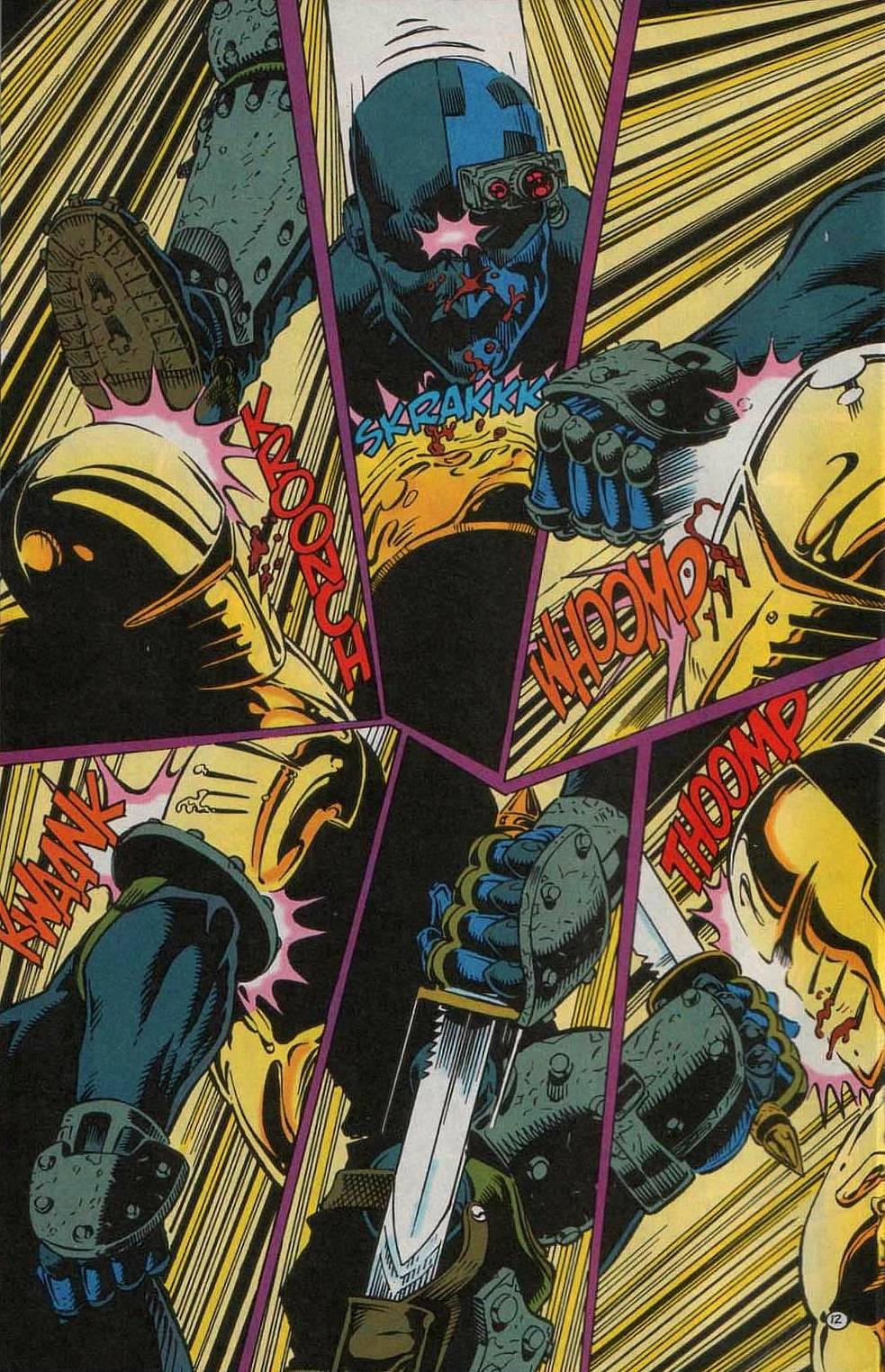 Deathstroke (1991) Issue #55 #60 - English 13