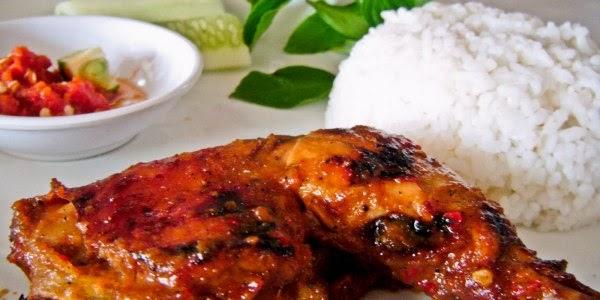Resep Kuliner : Ayam Kampung Bakar Sambal Bawang