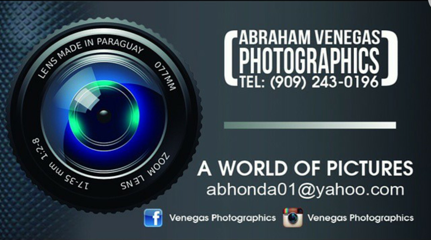 ABRAM VENEGAS PHOTOGRAPHICS