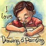 I Love Drawing and Painting