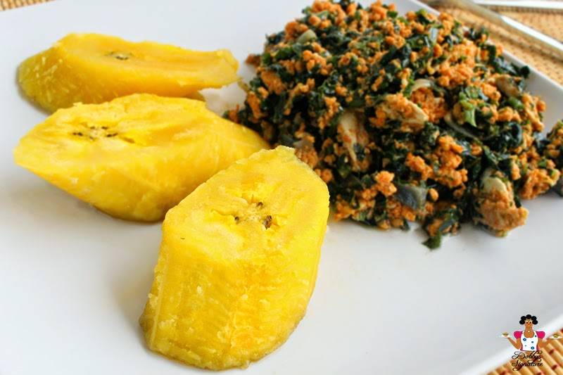 how to prepare plantain and egg