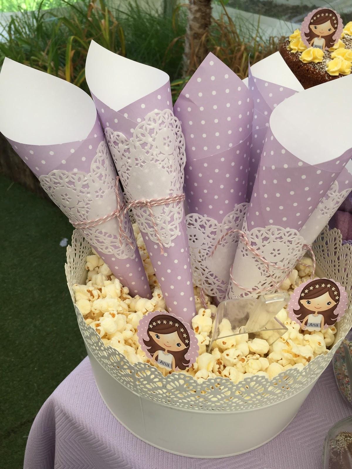 El taller de los dulces mesa dulce para la comuni n de ana for Mesas dulces comunion nina