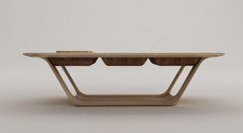contemporary modular coffee table by roberto delponte