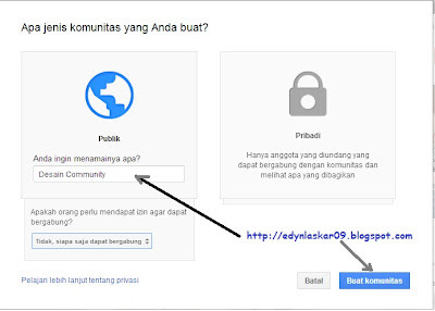 Cara Membuat Grup Google+ Community