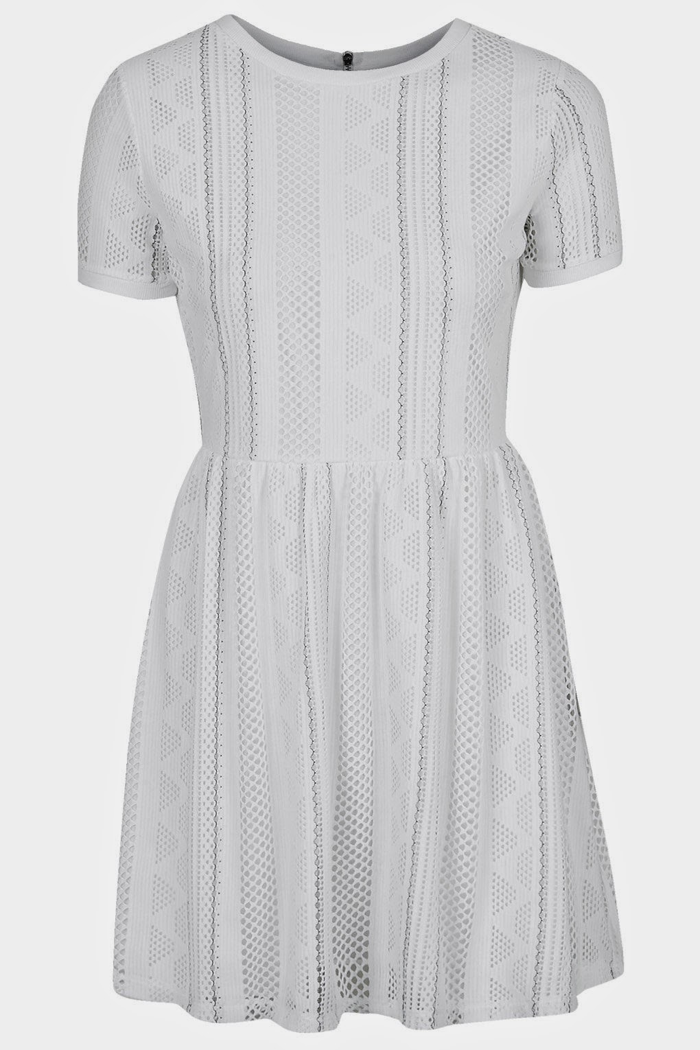 white panel dress, white lace dress topshop,