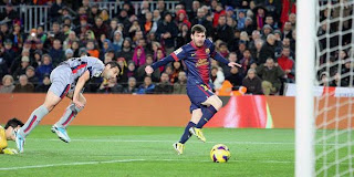 Video higlight pertandingan Barcelona vs Osasuna 5-1 Senin 28 Januari 2013
