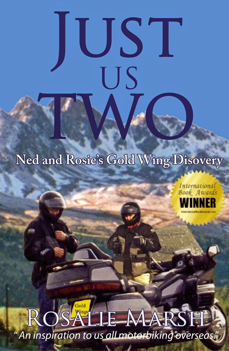 Award winning. Just Us Two: Ned and Rosie's Gold Wing Discovery.