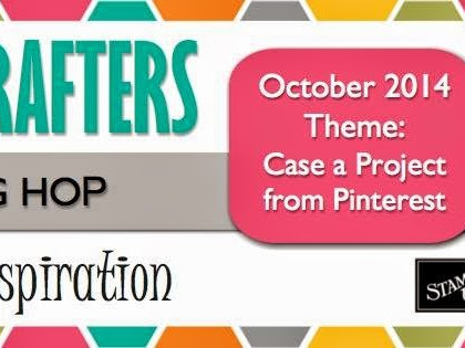 The Crazy Crafters' October Blog Hop - CASE