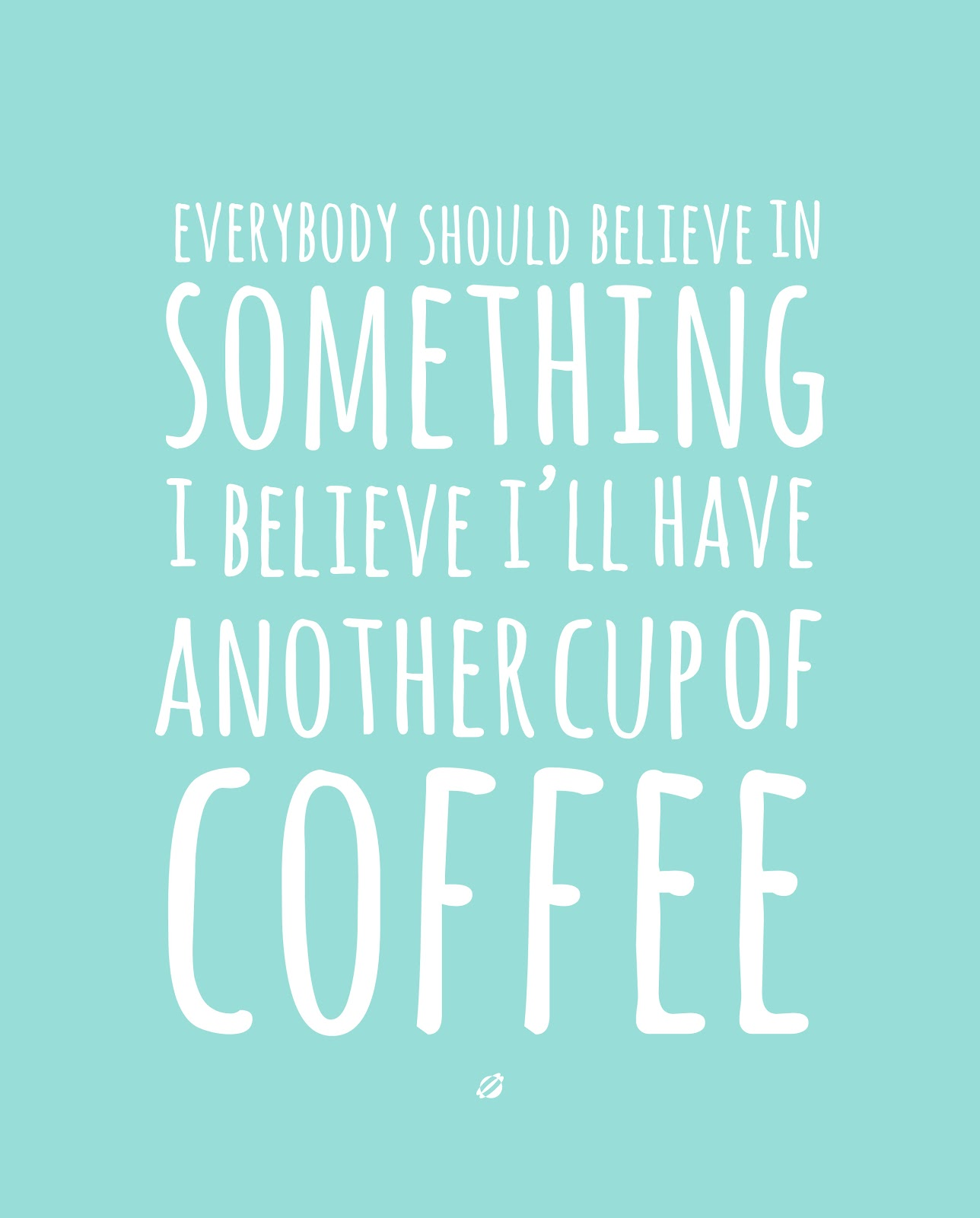 LostBumblebee ©2014 Coffee Believe - Free Printable