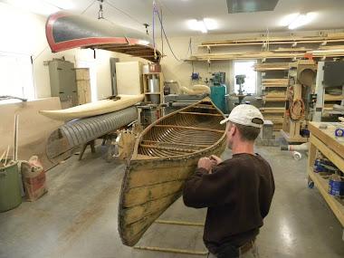 Canoe restoration & repairs