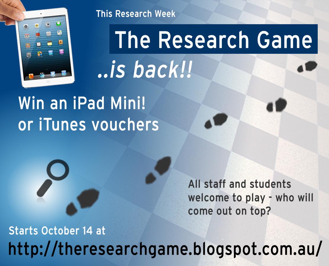 http://theresearchgame.blogspot.com.au/