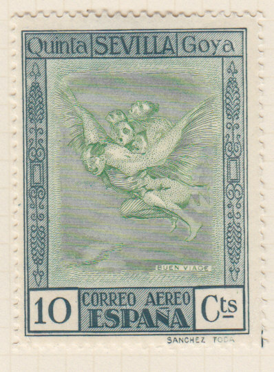 Stamp collecting Postage stamps of Goya - Stamps