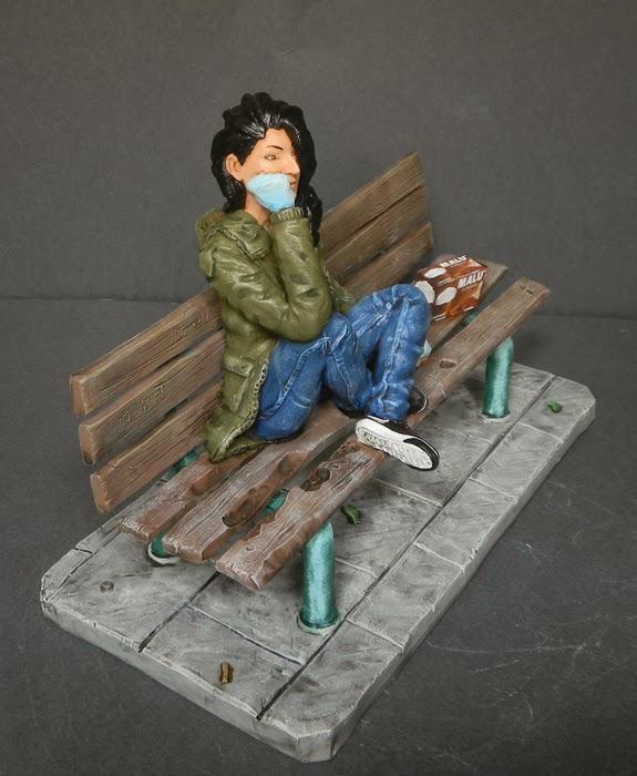statuina personalizzata realistica ritratto somigliante ragazza orme magiche