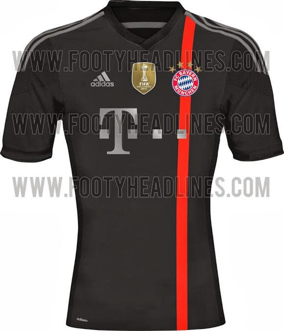 Bocoran Jersey Ketiga Bayern Munich Musim 2014-2015