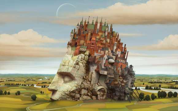 Marcin Jakubowski ilustrações arte conceitual fantasia ficção