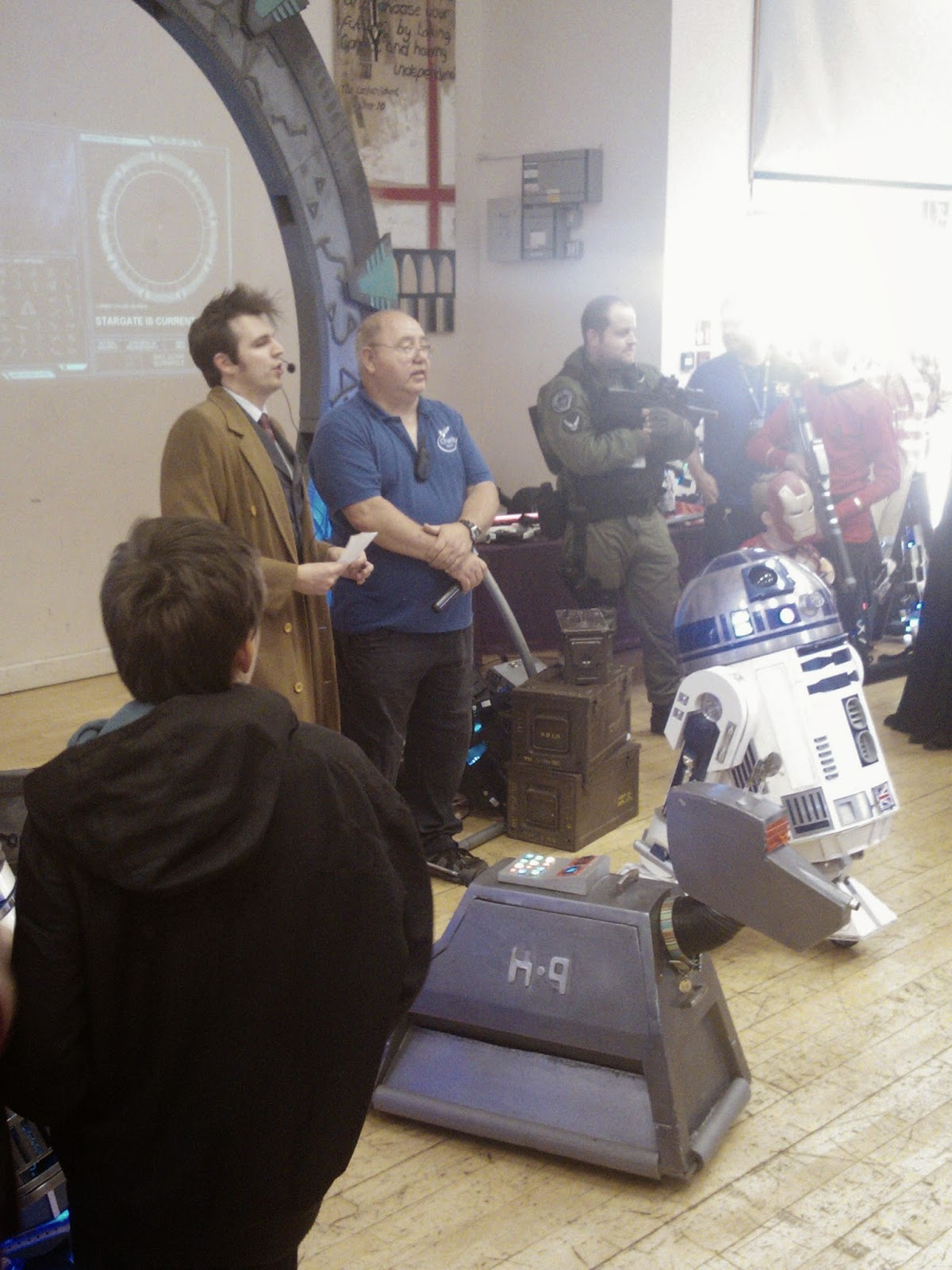Corsham Charity Sci-Fi fun day 2014