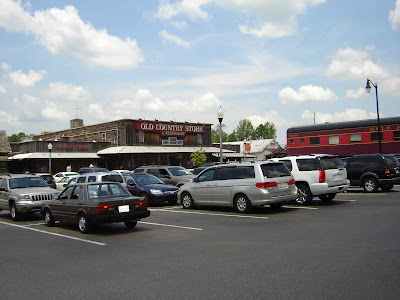 Memphis que casey jones village old country store