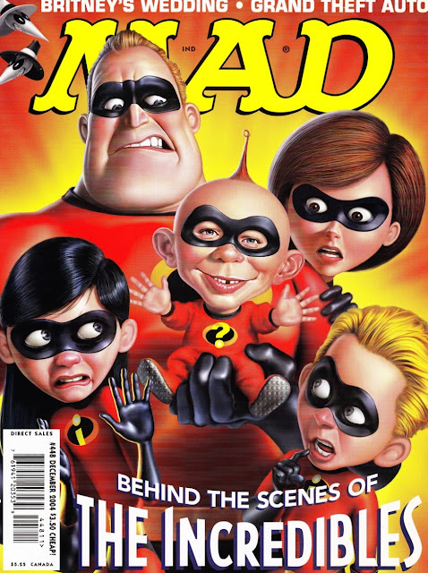 The geeky nerfherder movie poster art the incredibles 2004