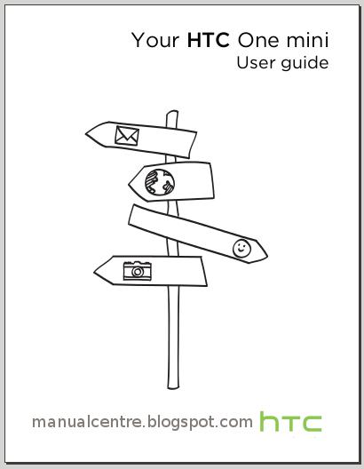 HTC One mini Manual Cover