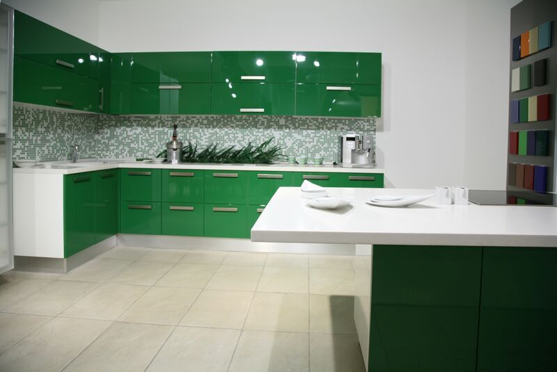 Pictures Of Green Kitchen Cabinets