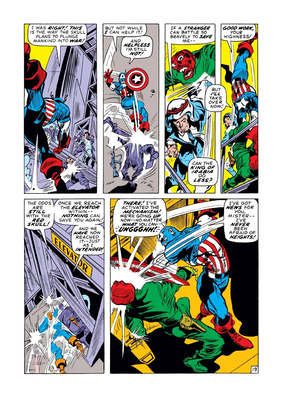 Captain America (1968) Issue #129 #43 - English 19