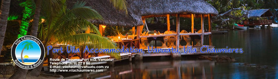 Port Vila Accommodation, Vila Chaumieres Resort and Restaurant