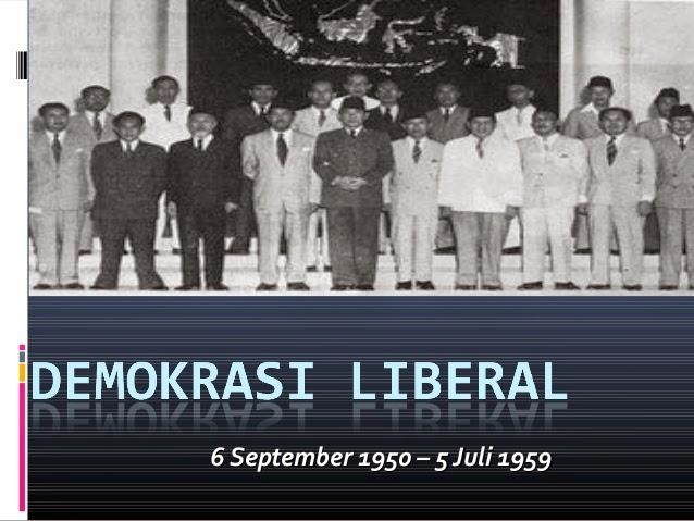 definisi Demokrasi liberal
