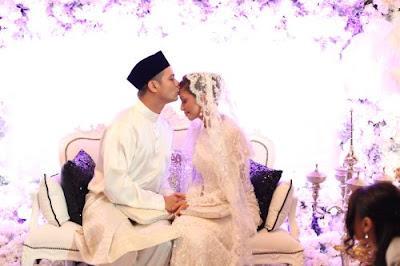 Gambar Noh Hujan Mizz Nina Majlis Perkahwinan