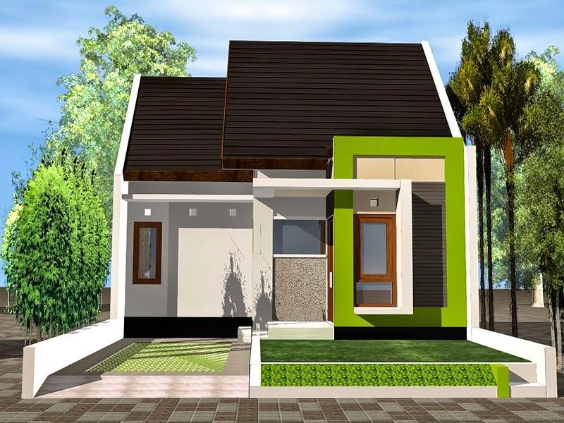 Desain Rumah Minimalis 1 Lantai Type 54