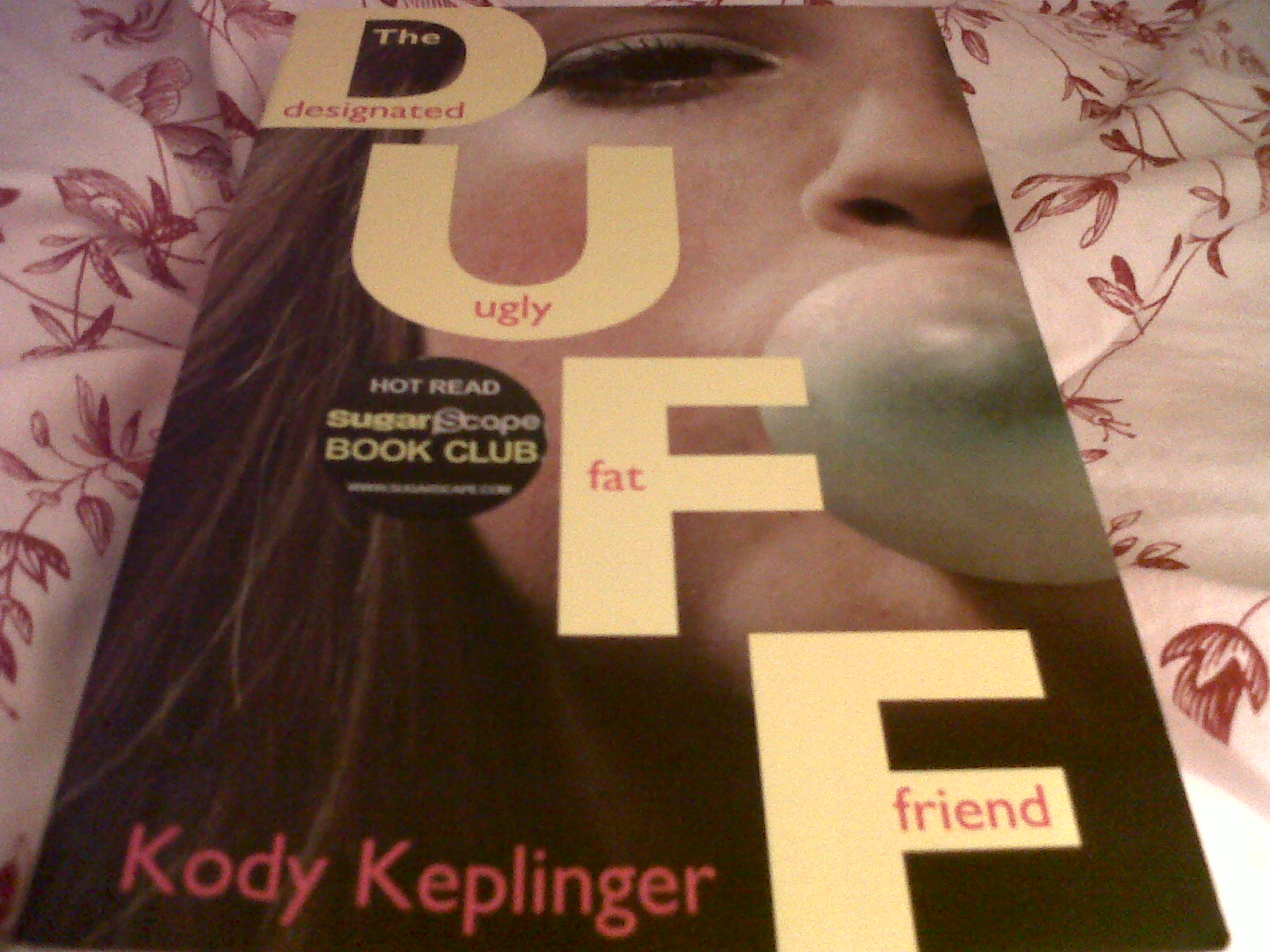 My Reading Life Book Reviews: The DUFF - Designated, Ugly ...
